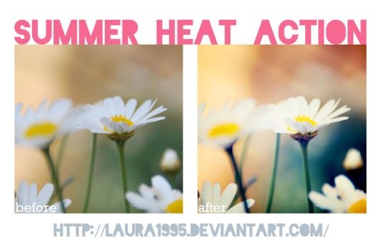 summer heat action by Laura1995