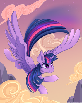 Twilight Sparkle by TheNornOnTheGo