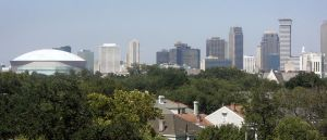New Orleans Skyline 2 by tobilou