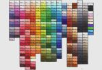 Complete Copic Color Chart by Joker08