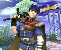 Ike, Super Smash Bros. Brawl by Serenochan