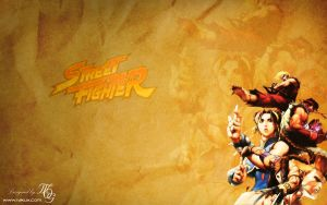 Street Fighter Paper Style by RakuX