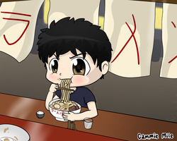 Ramen time! by Caramelcat123