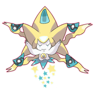 Commission Mega Jirachi by Phatmon66