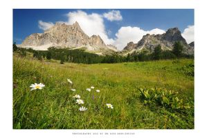 Tofana, Dolomites - II by DimensionSeven