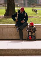 Father and Son by daveant