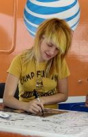 Hayley Williams From Paramore by girljinxed18