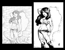 She Hulk Redo  (Then and Now) by comicfreak41691