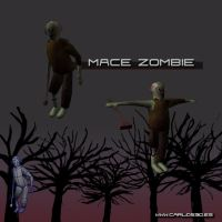 3D Zombie Character by OzMa0