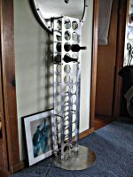 Stainless vertical winerack by ou8nrtist2