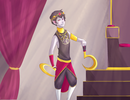 Tyrian Karkat by InkXBlotch