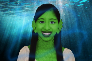 Graphic Design 1 Project: Mugshot of me as Gillina by Magic-Kristina-KW