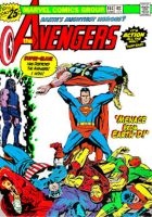 Superman Murders The Avengers by AceThunder123