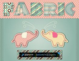 Fabric Graphic Styles by JaneVision