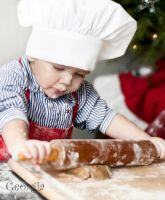 Child Christmas baking 3 by ForeverCreative