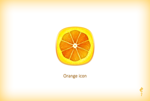 Orange Icon 1 by zuyetawarmatik