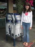 Shannon and R2D2 by dsimple