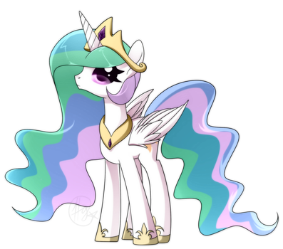 Cute Celestia by Forever-Pegasister