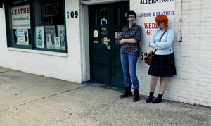 hangin' at the drycleaners by genuphobic