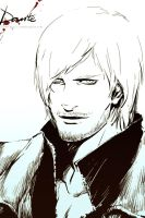 Dante of Devil May Cry 4 by jjkuin