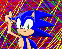 Some Picture of Sonic by Sophie-The-Skunk