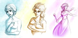 Elsa sketches by thereina