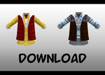 Male down vest layering    DL by Skary66