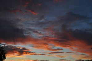 Hot desert evening sky by we-are-the-remnants