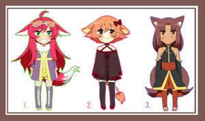 $5 Adoptables (Closed) by TFOTR