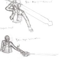 Yuki's Weapons by FFSquall