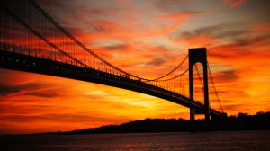 Verrazano Sunset by BluePhoenix-Ra