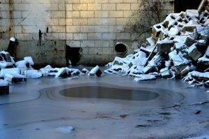 Frozen Rubble by coffeenoir