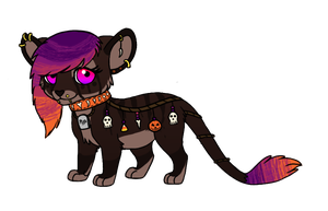 Jahpan Halloween Design Contest Entry 2 by SapphireSquire