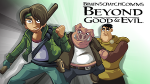 BrainScratchComms: Beyond Good and Evil Thumbnail by SmashToons