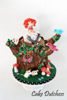 Tree Trunk Fairy by Naera