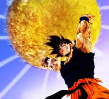 Dragonball Z - Goku by RicGrayDesign