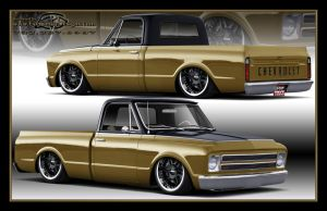1967 Chevy C10 by EyeKandyDesigns