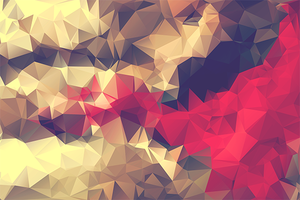 Free Polygonal / Low Poly Background Texture #8 by RoundedHexagon