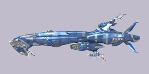 Anuba Hull upgrade port orthographic elevation. by Sorceress2112