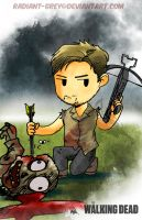 Walking Dead - Daryl by Radiant-Grey