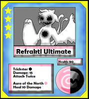 Refraktl Ultimate Card White (Adopt) by Dianamond