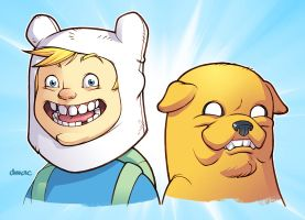 Adventure Time! by D-MAC