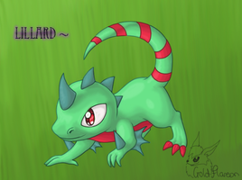 Lillard art trade by GoldFlareon