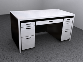Metal Desk by Picolini