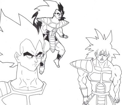Universe 13 What if (Line Art) by FlashFighter212