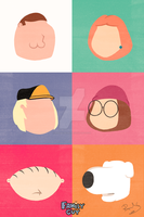 Family Guy - Minimalist by raquelsegal