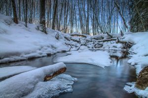 Cold water by m-eralp