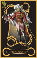 Steampunk tarot of Magician by flamarahalvorsen