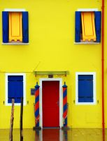 Yellow house by CarlosBecerra