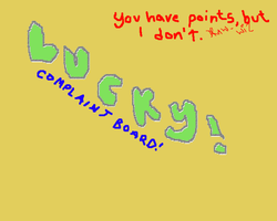 COMPLAINT BOARD by draw-wiz